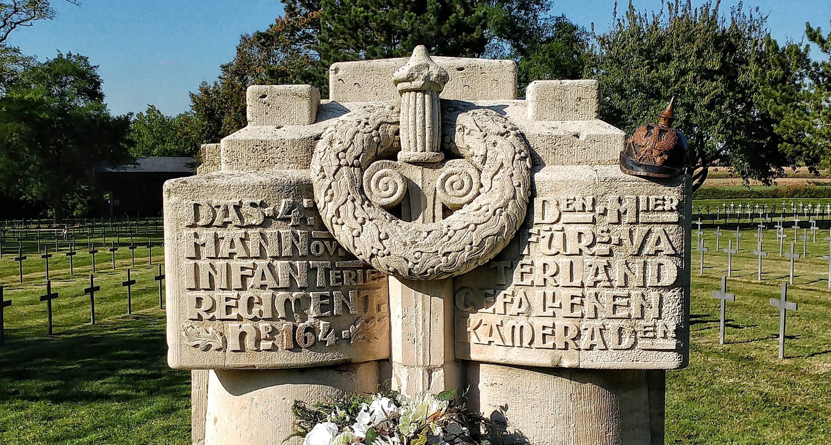 Neuville St Vaast - Memorial of the Rat Catchers - IR164