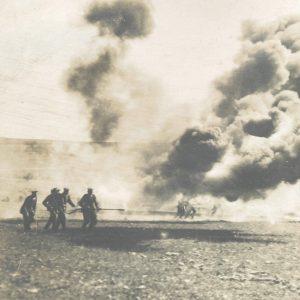 Flame thrower - Storm of Steel - WW1 Battlefield Tour - Ernst Jünger - Zeitgeist Tours