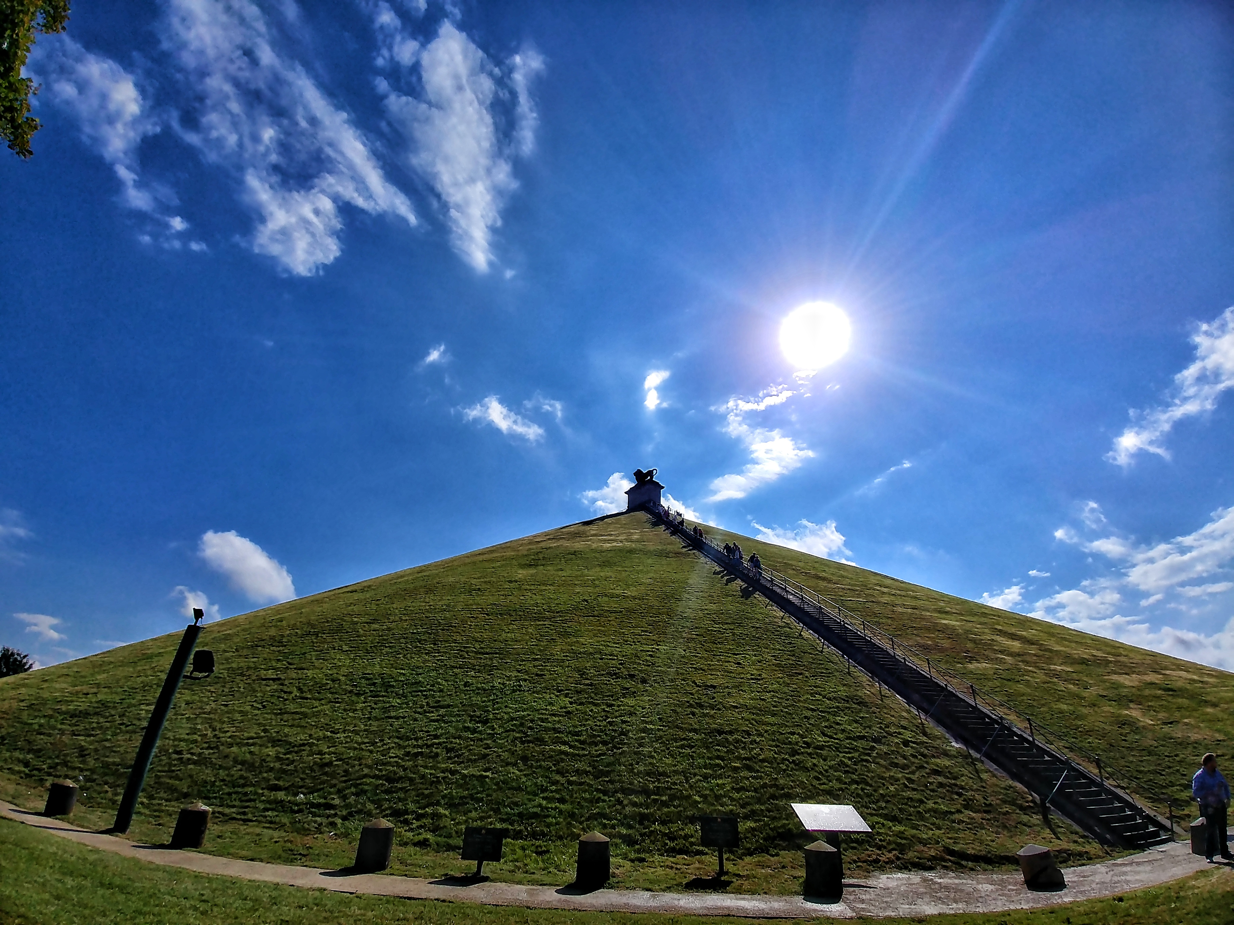 Waterloo - Butte du Lion - Lion Mound