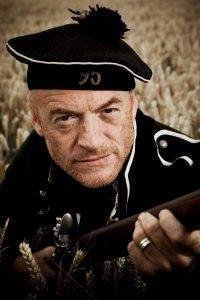 Jason Salkey - Rifleman Harris - Waterloo 1815: Over the Hills & Far Away Zeitgeist Battlefield Tour