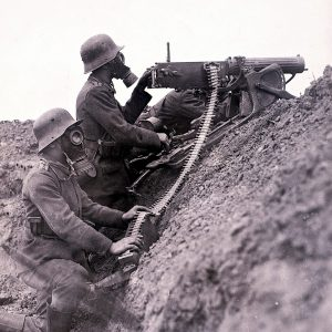 German machine gunners - Zeitgeist Tours WW1 Ernst Junger battlefield tour