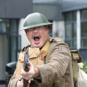 David Allton - Guide, Teacher, Educator, WW1 Reenactor - Zeitgeist Tours